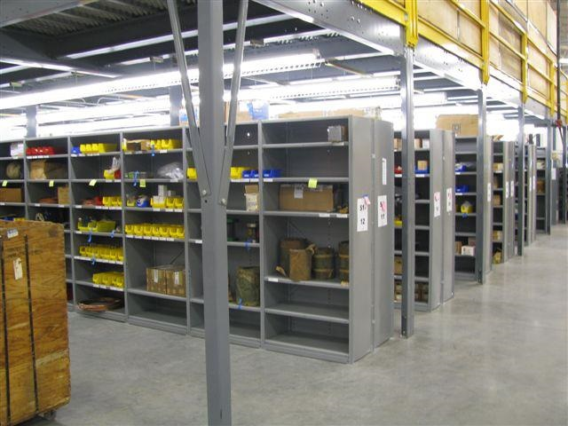Our Industrial Shelving