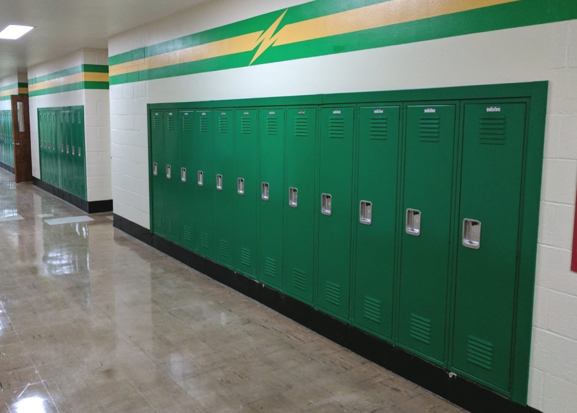 lyon-lockers-with-recessed-trim-installed